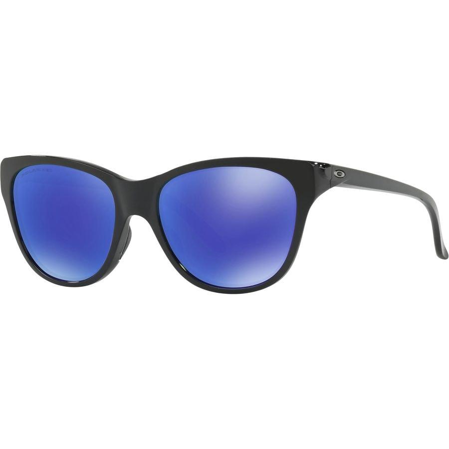b8cc4c7a2e Oakley - Hold Out Polarized Sunglasses - Women s - Polished Black - Violet  Iridium