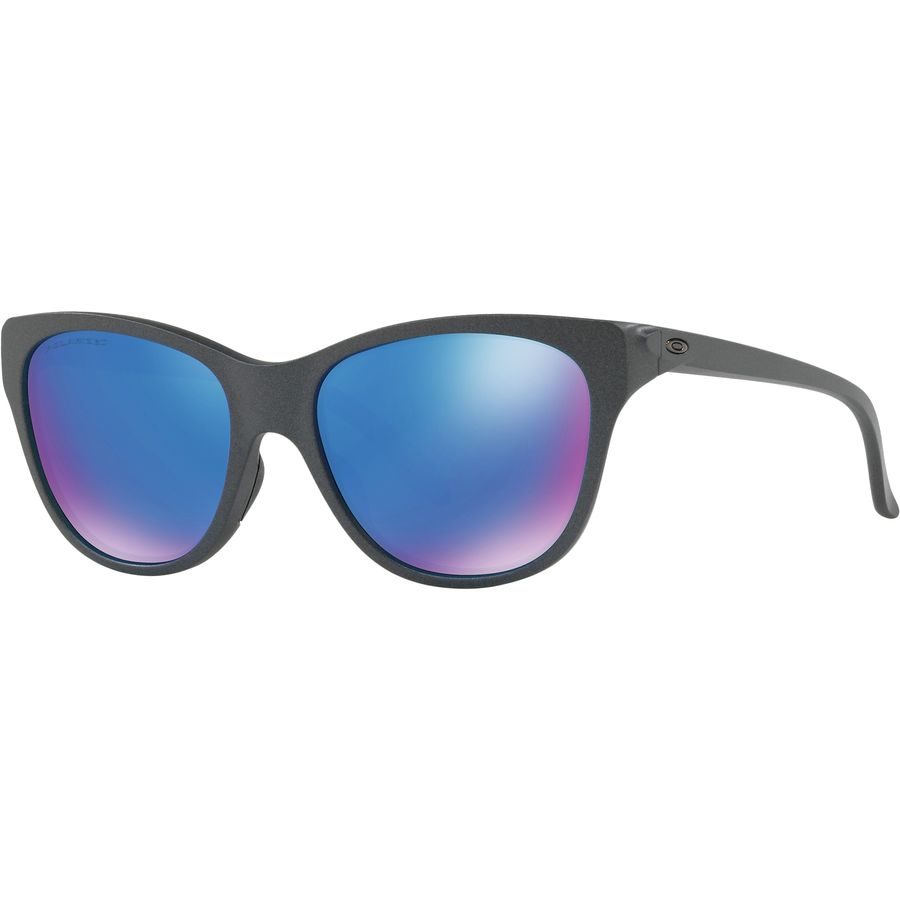 737dee300c2ef ... order oakley hold out polarized sunglasses womens steel sapphire  iridium 5eeb9 6eb26 ...