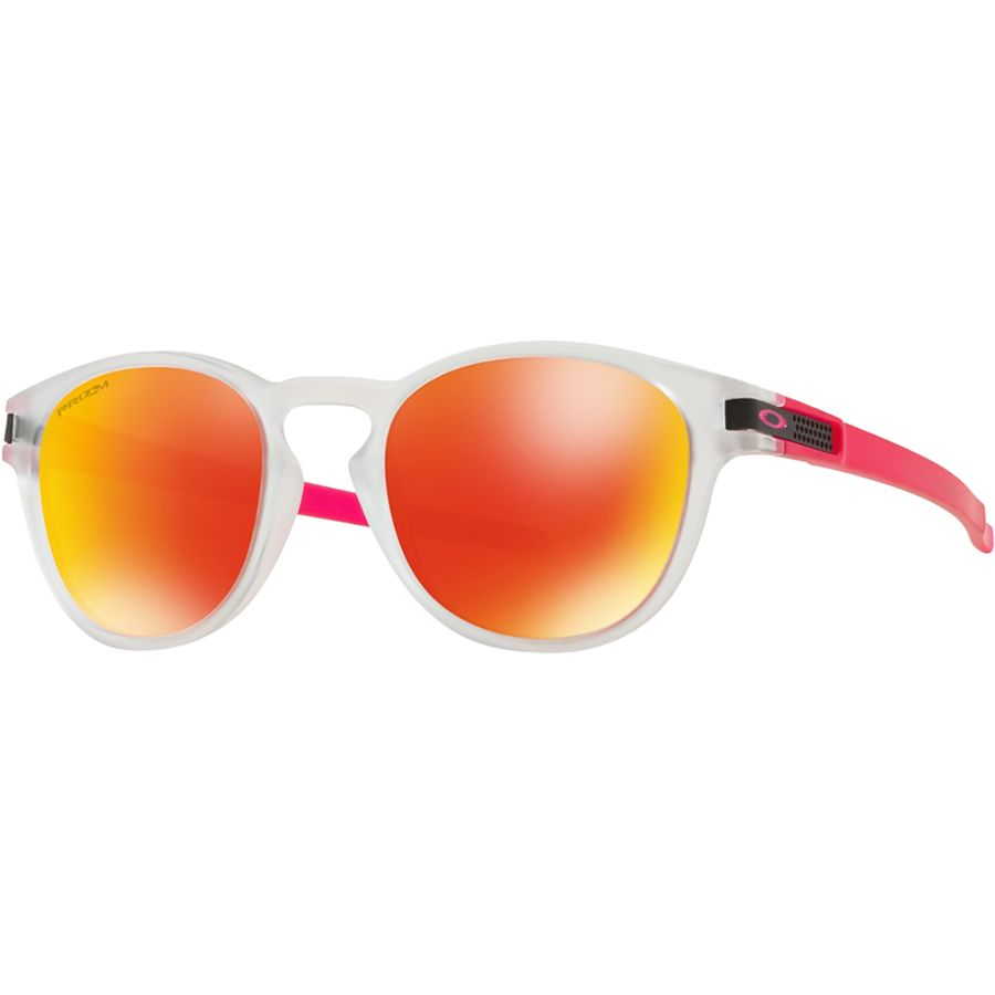 fec98819e5 Oakley - Latch Prizm Sunglasses - Crystal Pop W Prizm Ruby