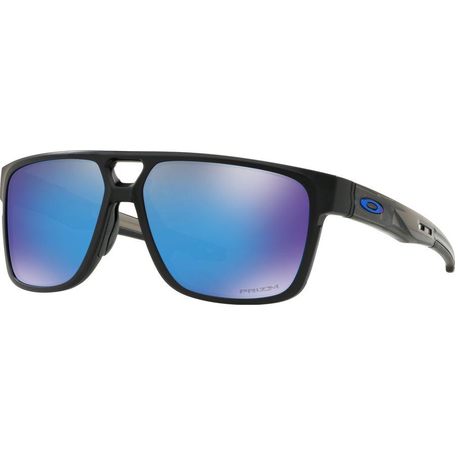 0b2772c547 Oakley - Crossrange Patch Prizm Sunglasses - Matte Black Przmtc Prizm  Sapphire