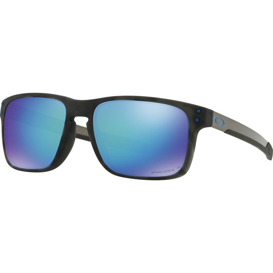 Oakley - Holbrook Mix Prizm Polarized Sunglasses - Matte Black Tortoise W Prizm  Sapphire Polarized 0cd12a55c6