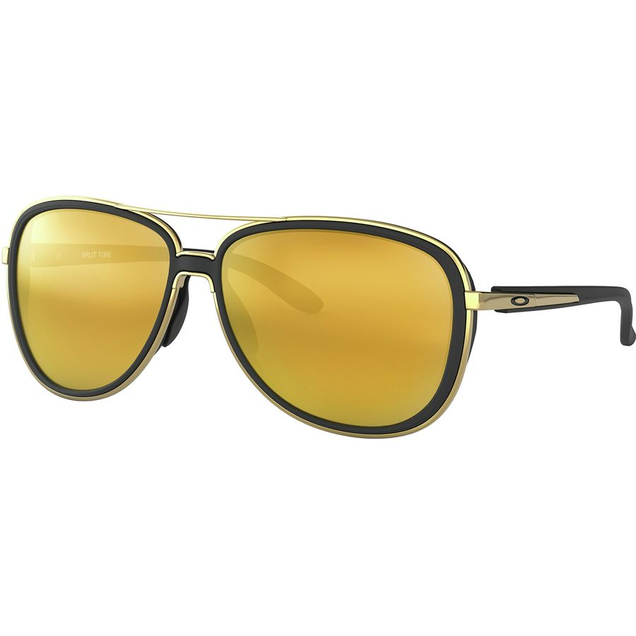 ea351fc680a Oakley - Split Time Sunglasses - Women s - Soft Black 24k Iridium