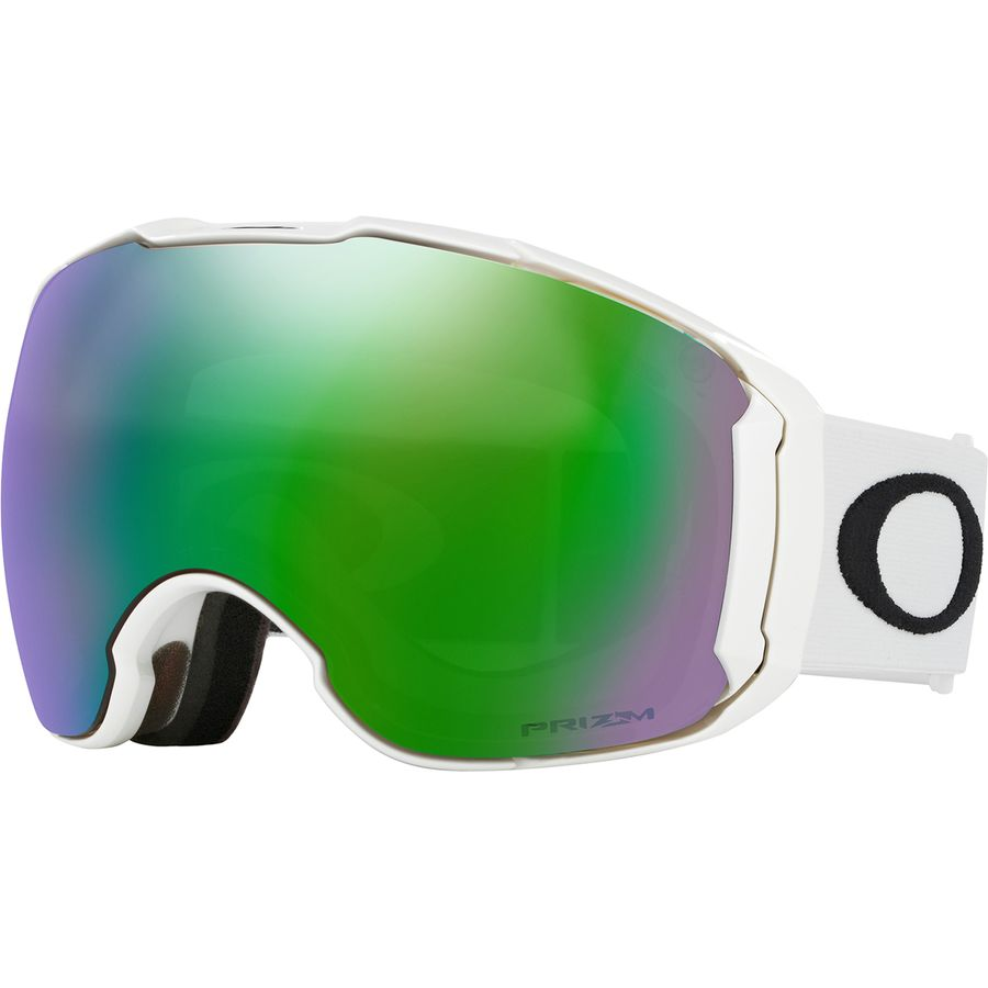 ea0040b85a8 Oakley - Airbrake XL Prizm Goggles - Matte White Prizm Jade-Prizm Sapphire
