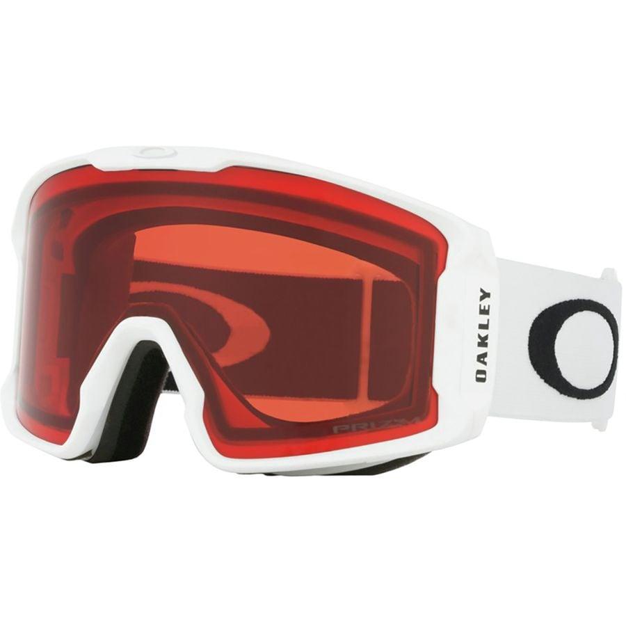 3b5b2c578e Oakley - Line Miner Prizm Goggles - Matte White Prizm Rose