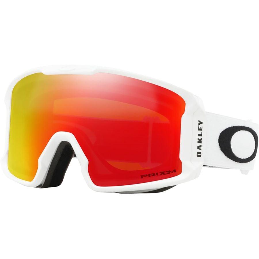 ac7a558f3bd4 Oakley - Line Miner XM Prizm Goggles - Matte White Prizm Torch Iridium