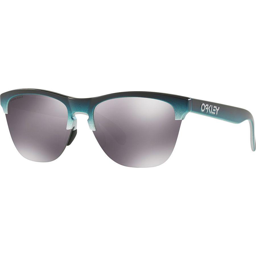 b71b9ce57b3 Oakley - Frogskin Lite Grip Collection Sunglasses - Black Teal Fade Silver Prizm  Black