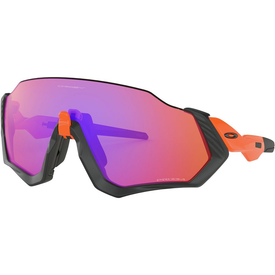 4b7bdae361 Oakley - Flight Jacket Prizm Sunglasses - Neon Orange Matte Black W Prizm  Trail