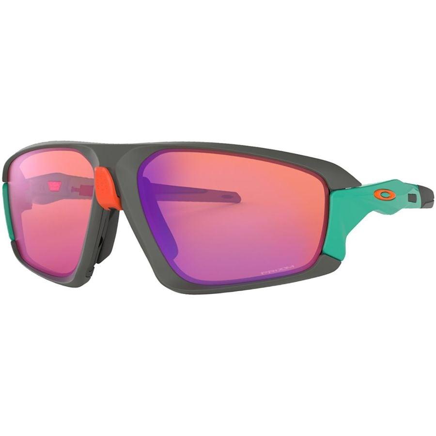 4cfb5a4b2f479 Oakley - Field Jacket Prizm Sunglasses - Matte Dark Grey Celeste W Prizm  Trail
