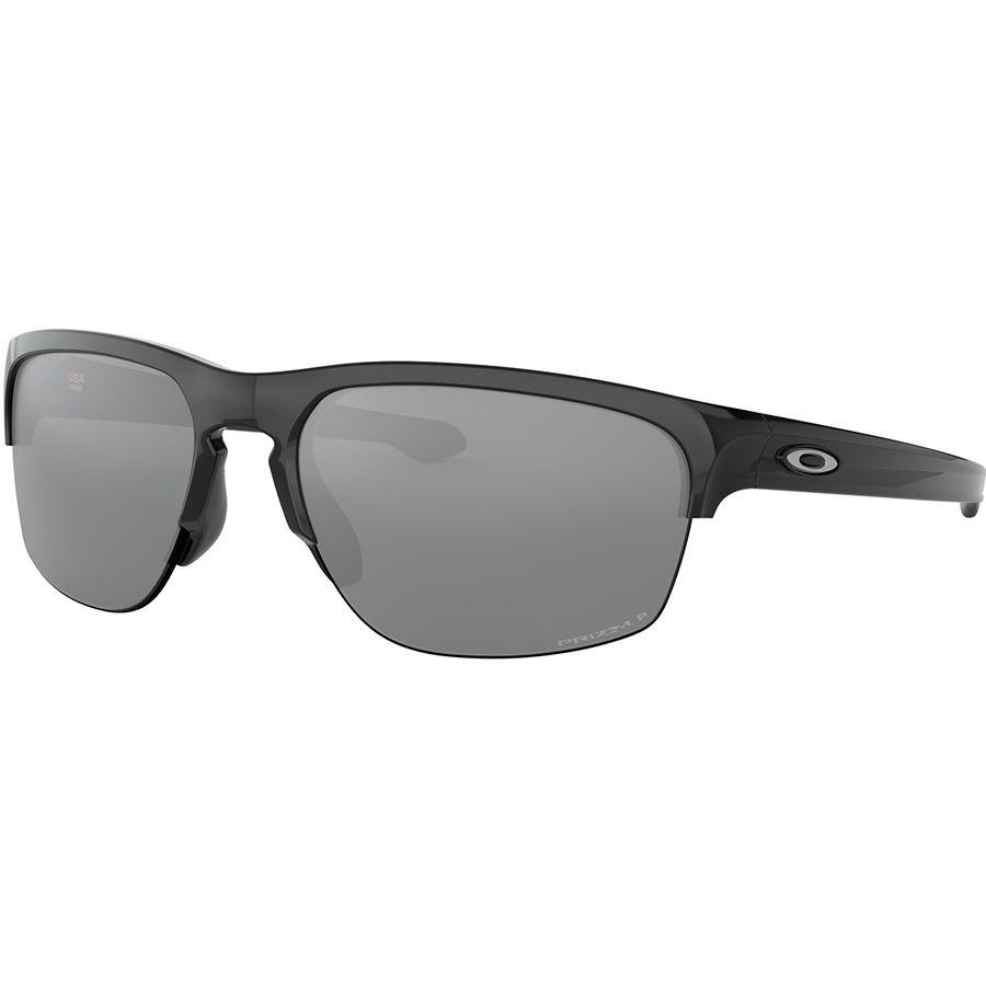 6c3f2ace17 Oakley - Sliver Edge Prizm Polarized Sunglasses - Polished Black W Prizm  Black Iridium Polarized
