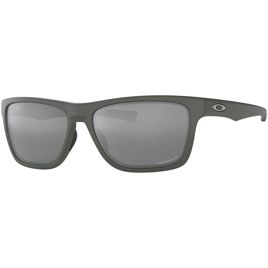 41e5af2a8b3 Oakley - Holston Prizm Polarized Sunglasses - Matte Dark Grey W Prizm Black  Iridium Polarized