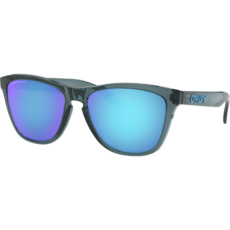 87a34d20d869 Oakley - Frogskins Prizm Polarized Sunglasses - Crystal Black Prizm  Sapphire Polarized