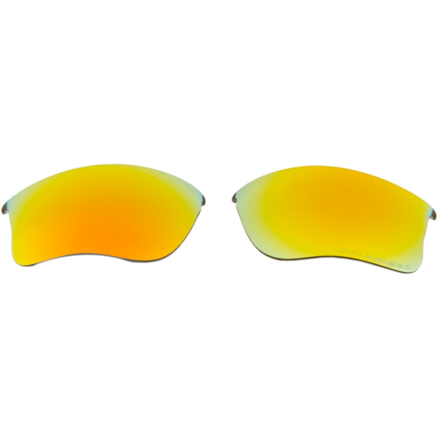 19e33f8596b Oakley - Flak Jacket XLJ Replacement Lens - Fire Iridium Polarized