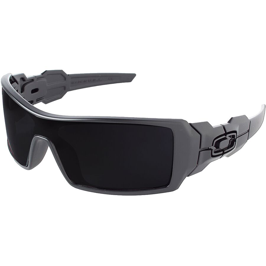 Oakley - Oil Rig Sunglasses - Men s - Matte Black Black Iridium b2e7af67dd