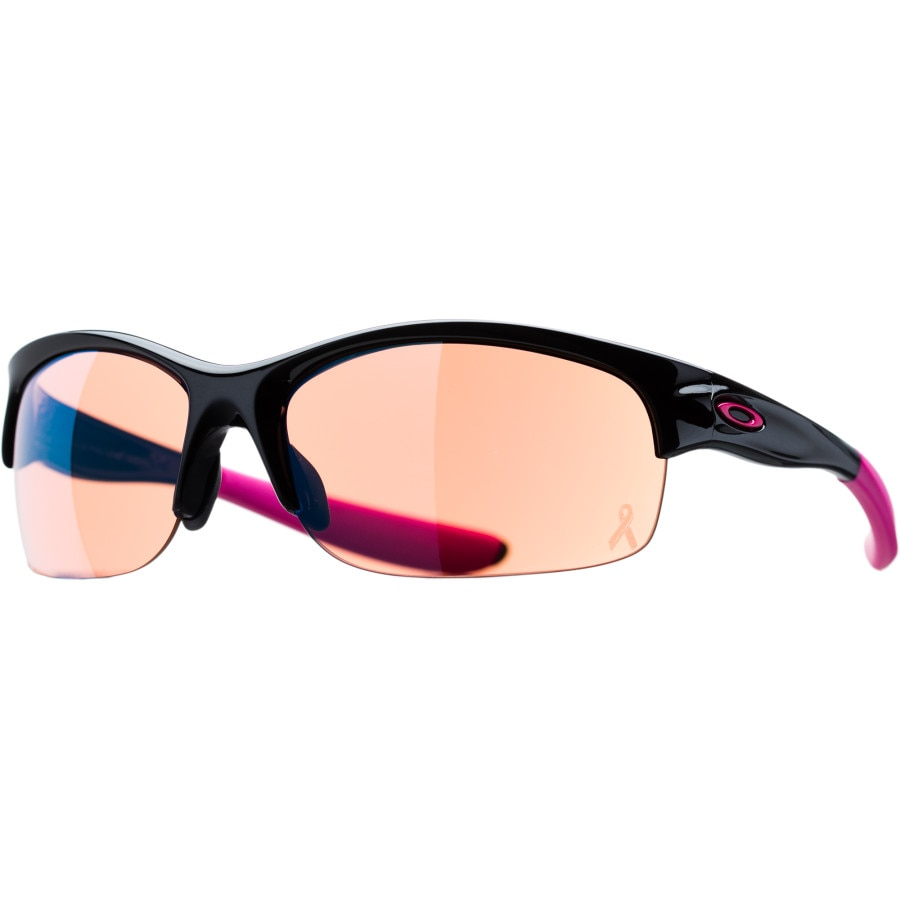 oakley commit sq womens sunglasses  oakley ysc commit sq signature women's sunglasses polished black/g30 iridium
