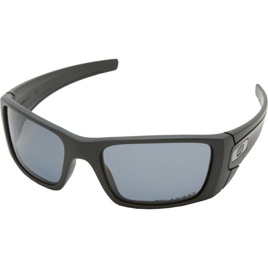820239b35897 Oakley - Fuel Cell Polarized Sunglasses - Men s - Matte Black Grey Polarized