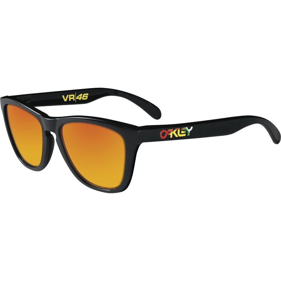 99625d2b50 Oakley - Frogskins Sunglasses - VR46 Pol Black  Fire Iridium