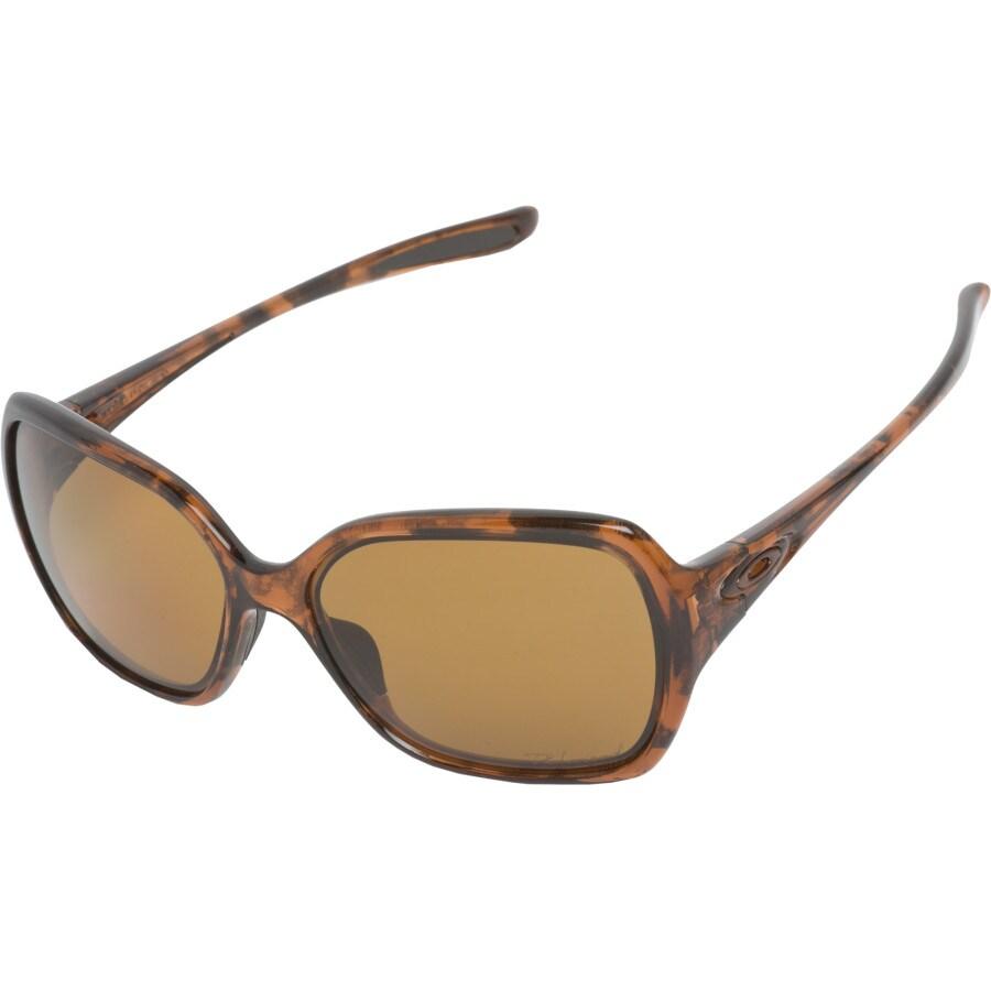 oakley overtime polarized sunglasses  oakley overtime polarized women's sunglasses tortoise/bronze