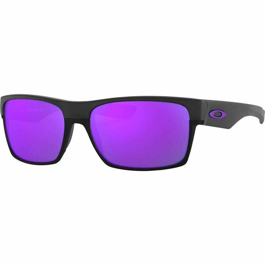 30936f736ed Oakley - TwoFace Sunglasses - Matte Black Violet Iridium