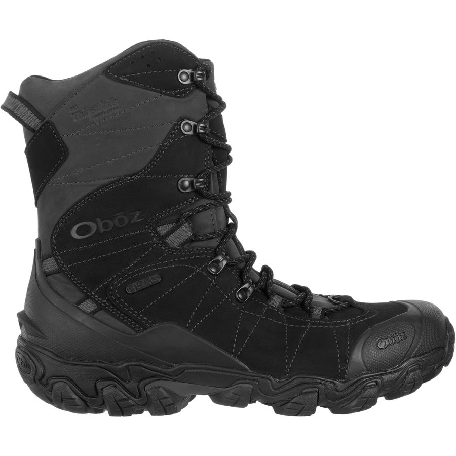 5f98b3f9c83 Oboz Bridger 10in Insulated B-Dry Boot - Men's