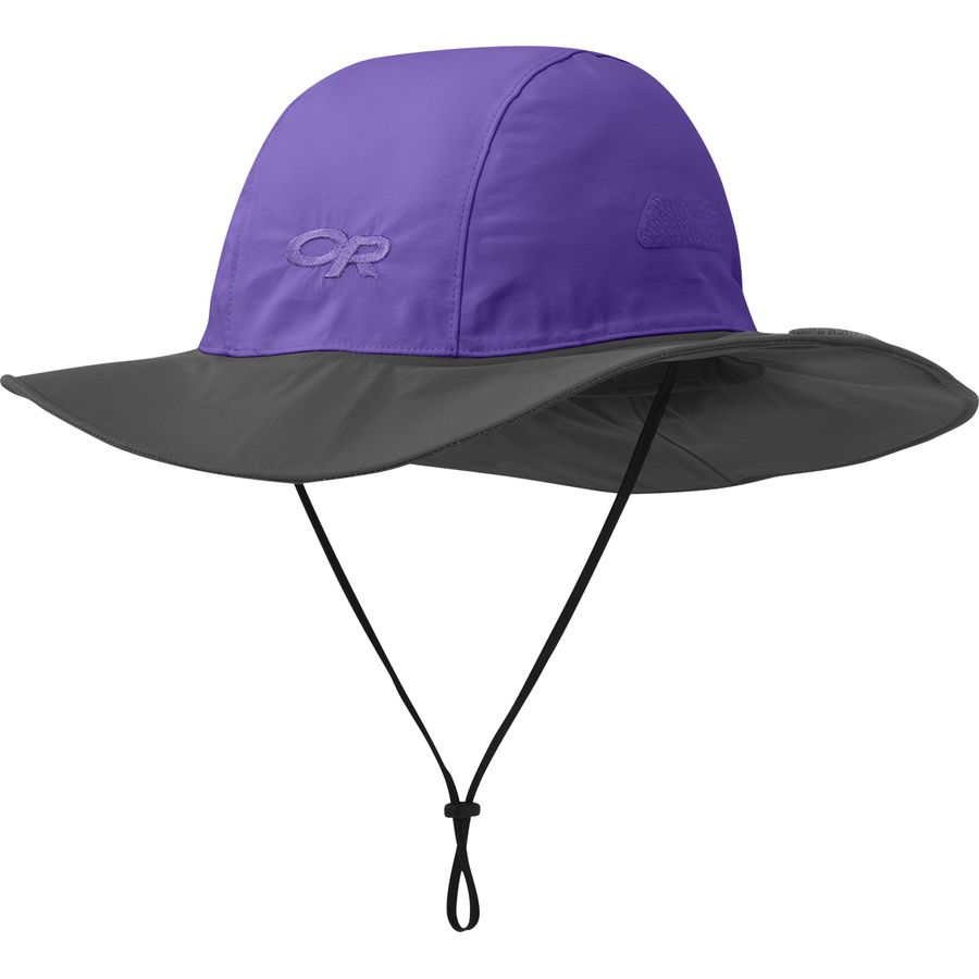 Outdoor Research - Seattle Sombrero - Purple Rain Dark Grey 84783ad503b