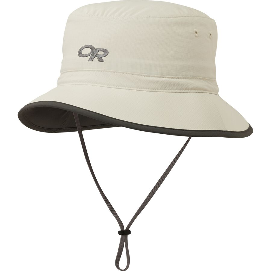 2da1cbf64fc Outdoor Research - Sun Bucket Hat - Men s - Sand Dark Grey