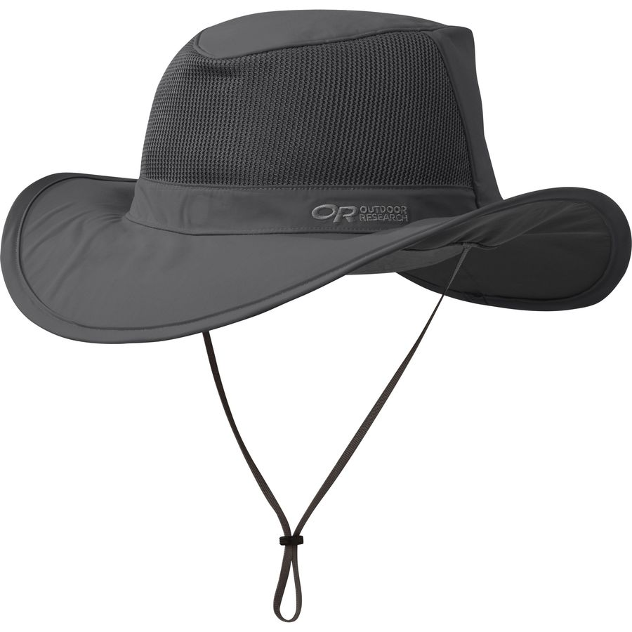 b9466a7cb0d Outdoor Research - Ghost Rain Hat - Men s - Charcoal