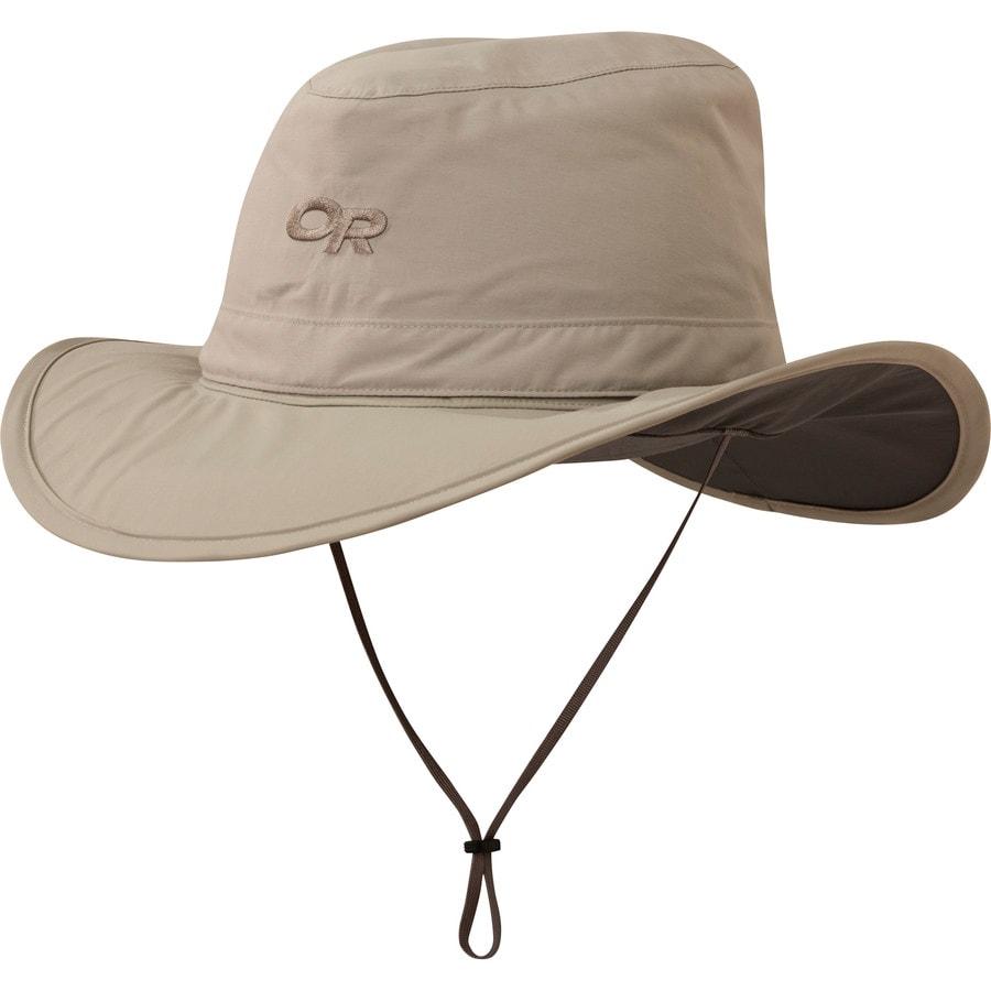 a099103befb Outdoor Research - Ghost Rain Hat - Men s - Khaki