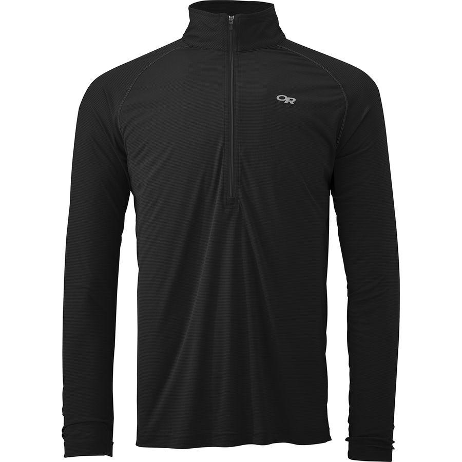 Outdoor Research Echo Zip-Neck Shirt - Mens