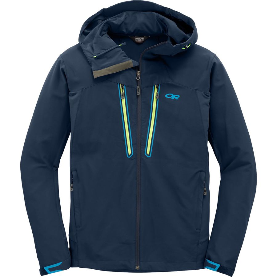 Outdoor Research Ferrosi Summit Hooded Softshell Jacket - Mens