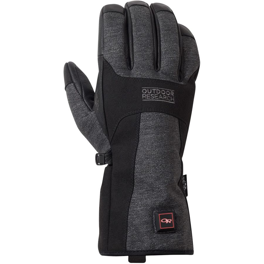 Battery Heated Clothing >> Outdoor Research Oberland Heated Glove - Men's | Backcountry.com