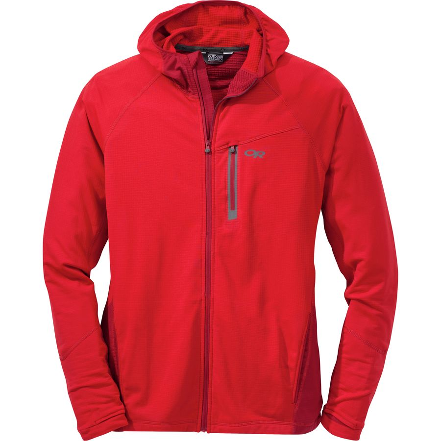 Outdoor Research Transition Hooded Fleece Jacket - Mens