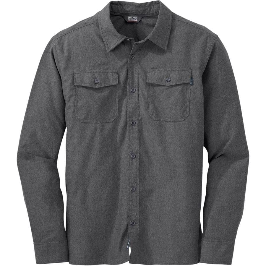 Outdoor research gastown flannel shirt men 39 s steep cheap for 9 oz flannel shirt