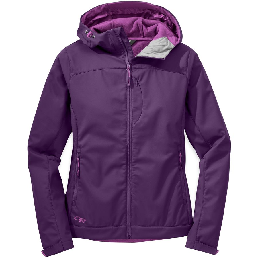 Outdoor Research Transfer Hooded Softshell Jacket - Womens