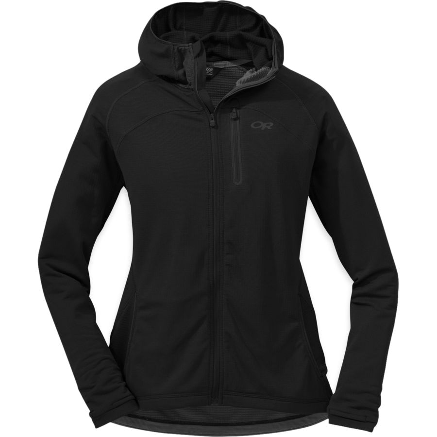 Outdoor Research Transition Hooded Fleece Jacket - Womens