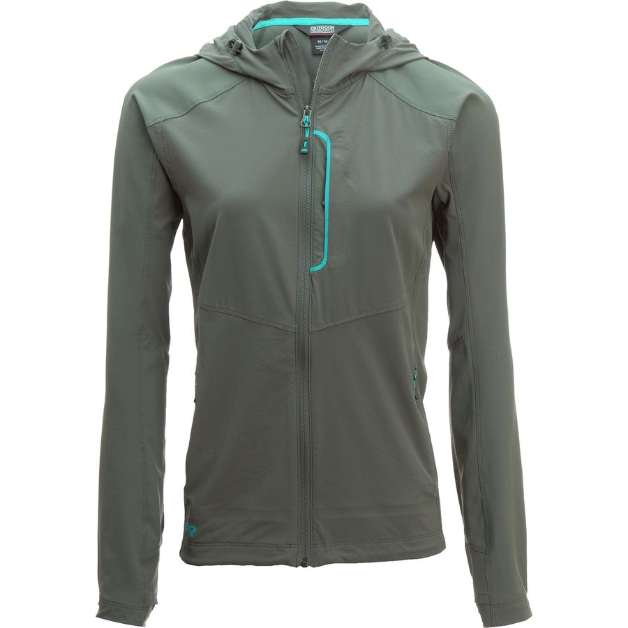 Outdoor Research Ferrosi Hooded Jacket - Women's | Backcountry.com