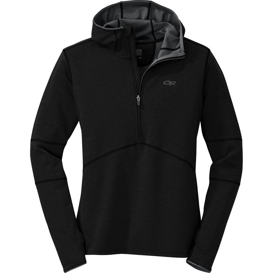 Outdoor Research Shiftup Half-Zip Fleece Hooded Jacket - Mens