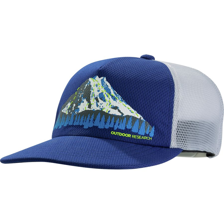 19ce852b1a1be Outdoor Research - Trail Run Performance Trucker Hat - Baltic