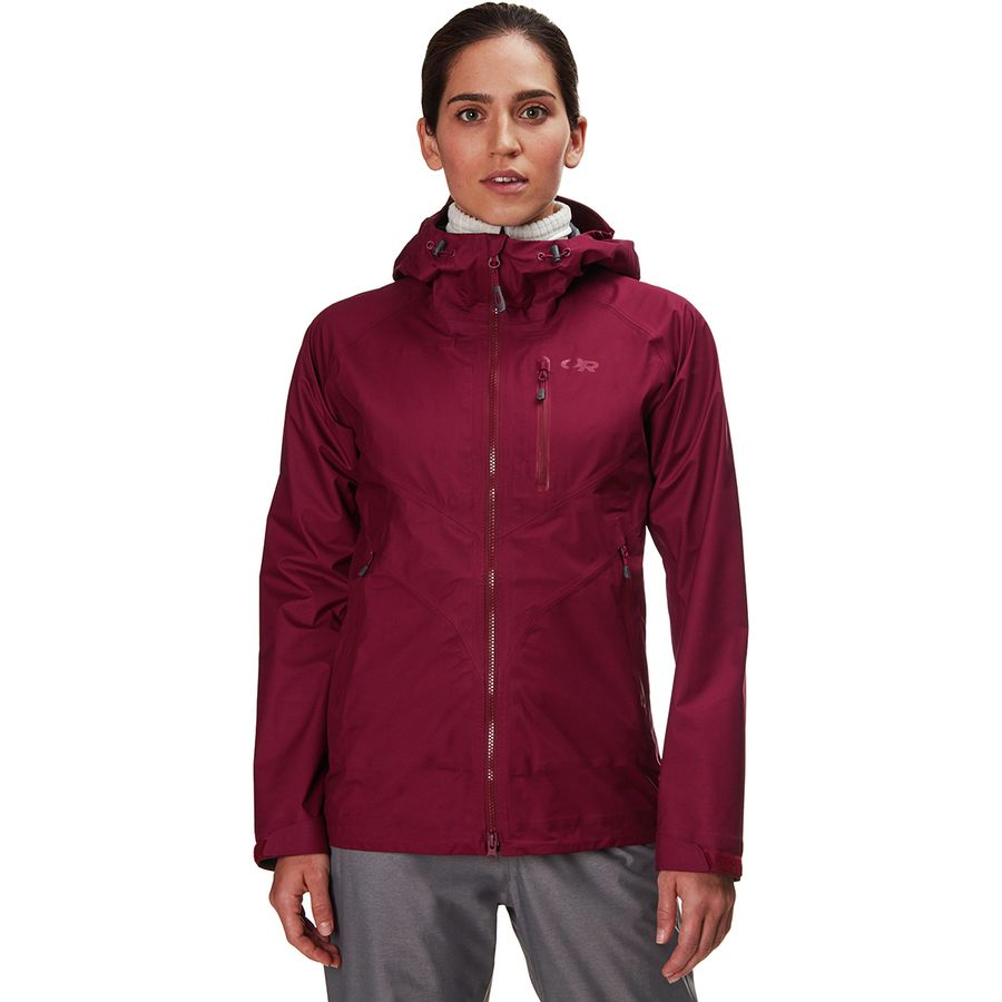 faee62261af Outdoor Research - Optimizer Jacket - Women s - Garnet
