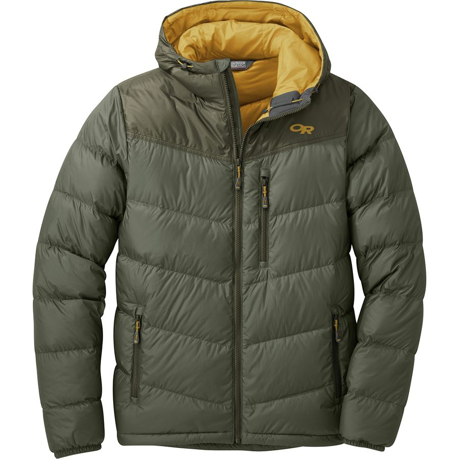 0be81e37c7 Outdoor Research Transcendent Hooded Down Jacket - Men s