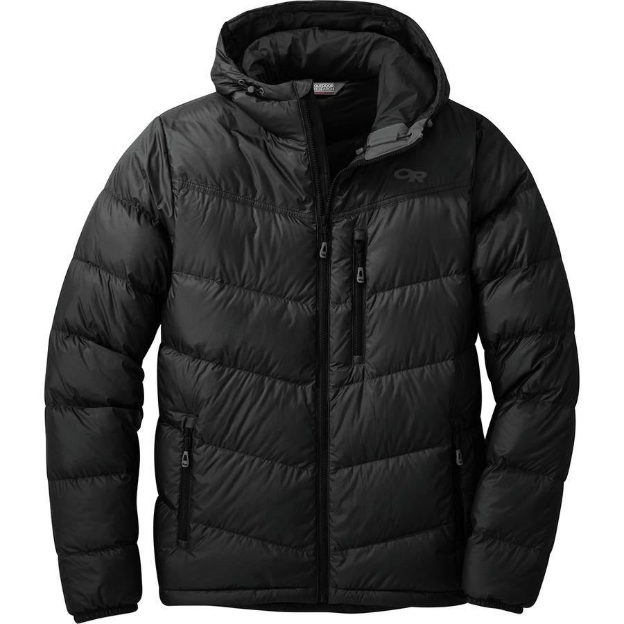 f4308f18ef1 Outdoor Research - Transcendent Hooded Down Jacket - Men s - Black