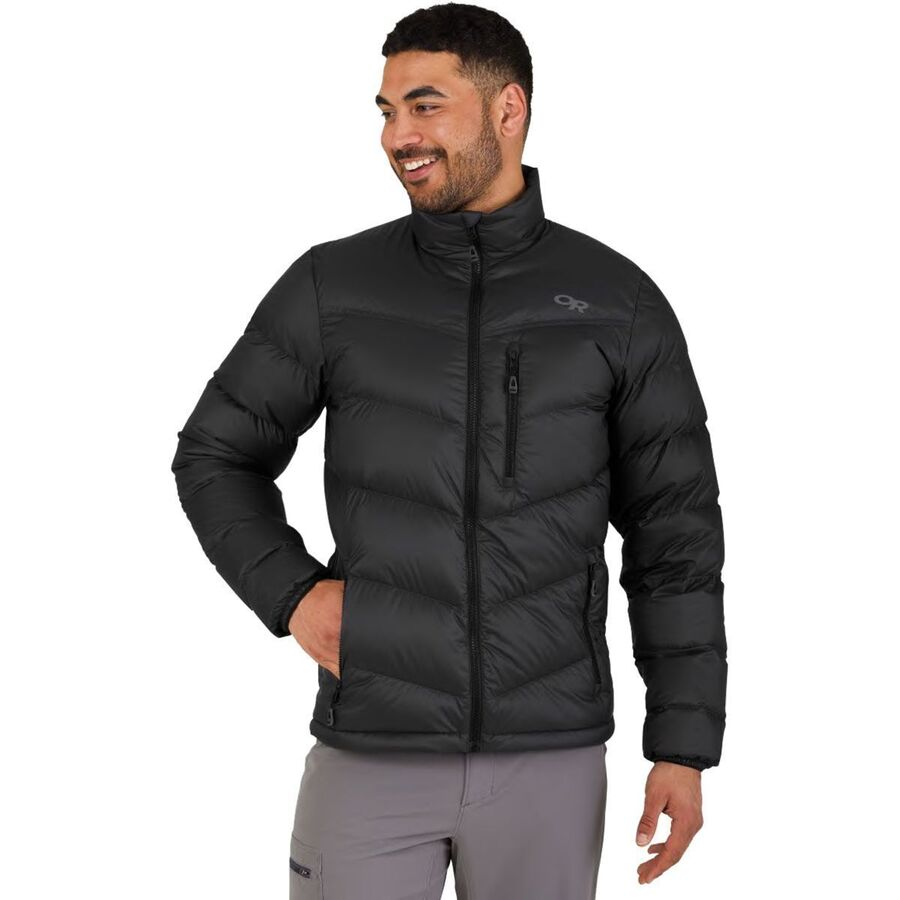 Pewter All Sizes Outdoor Research Transcendent Hooded Mens Jacket Down