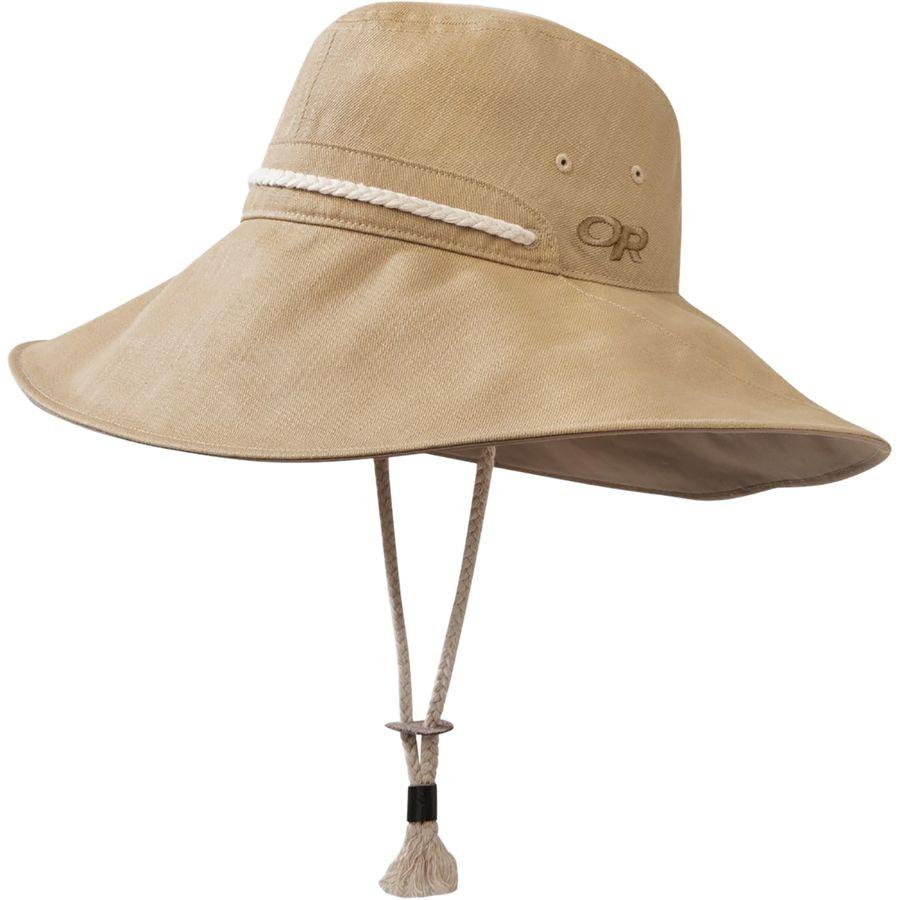 Outdoor Research - Bugout Mojave Sun Hat - Women s - Khaki 9f17aa4084d