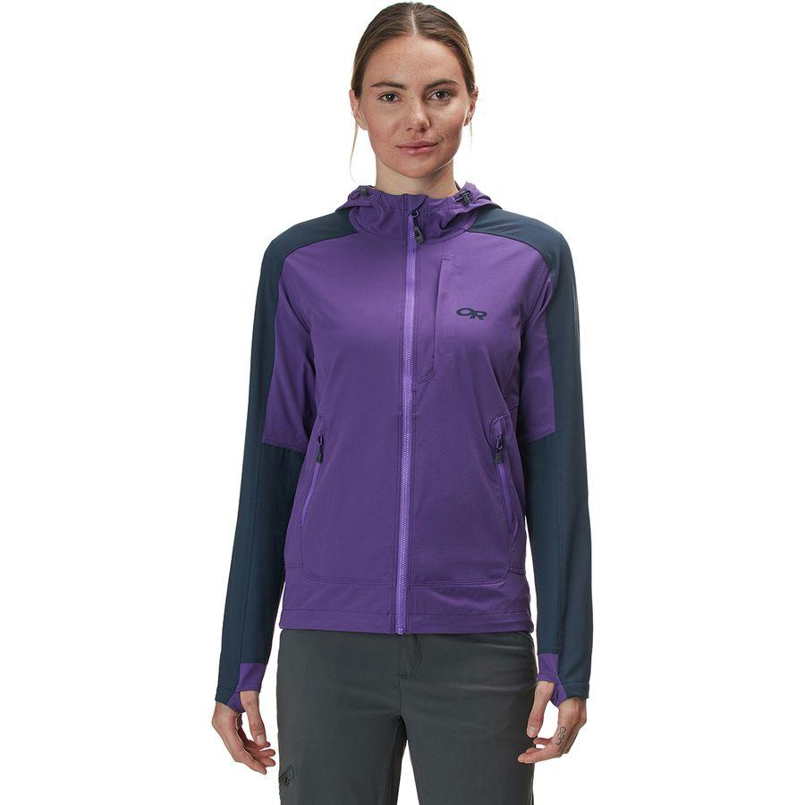 wholesale dealer 730f5 137d2 Outdoor Research Ferrosi Hooded Jacket - Women's