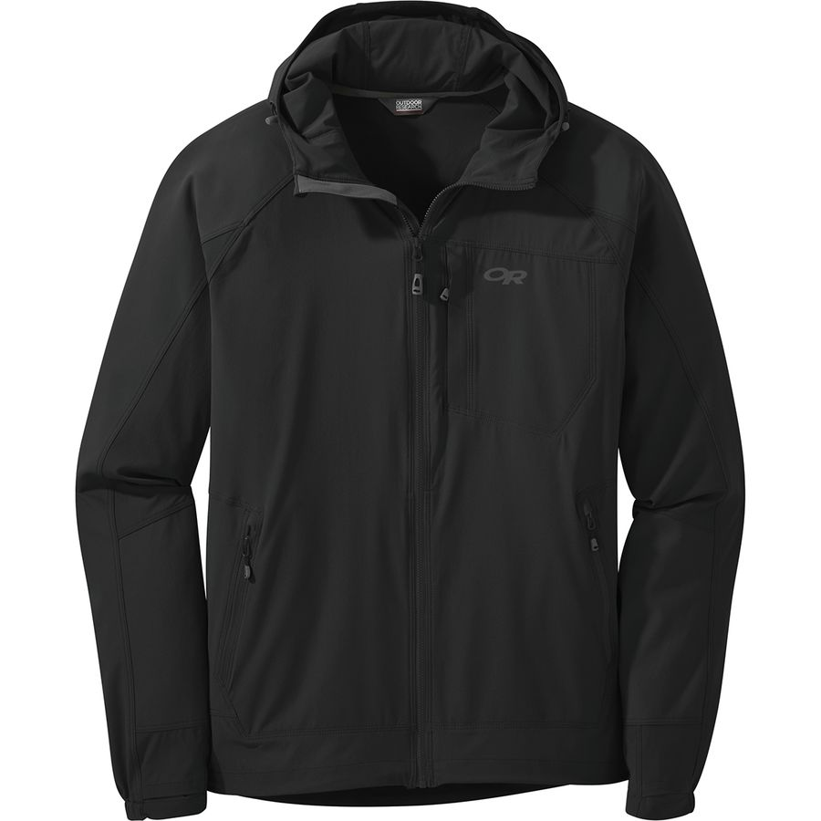 new product 0c59c 46e42 Outdoor Research Ferrosi Hooded Jacket - Men's
