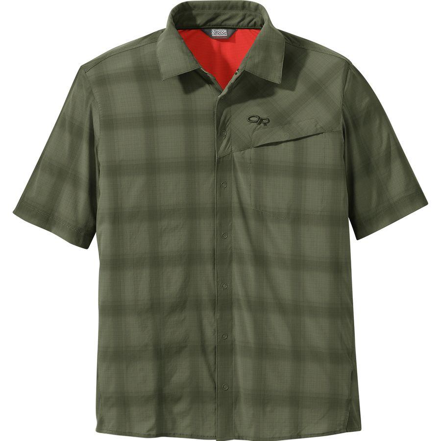 84b0a6136b01 Outdoor Research Astroman Short-Sleeve Sun Shirt - Men s ...
