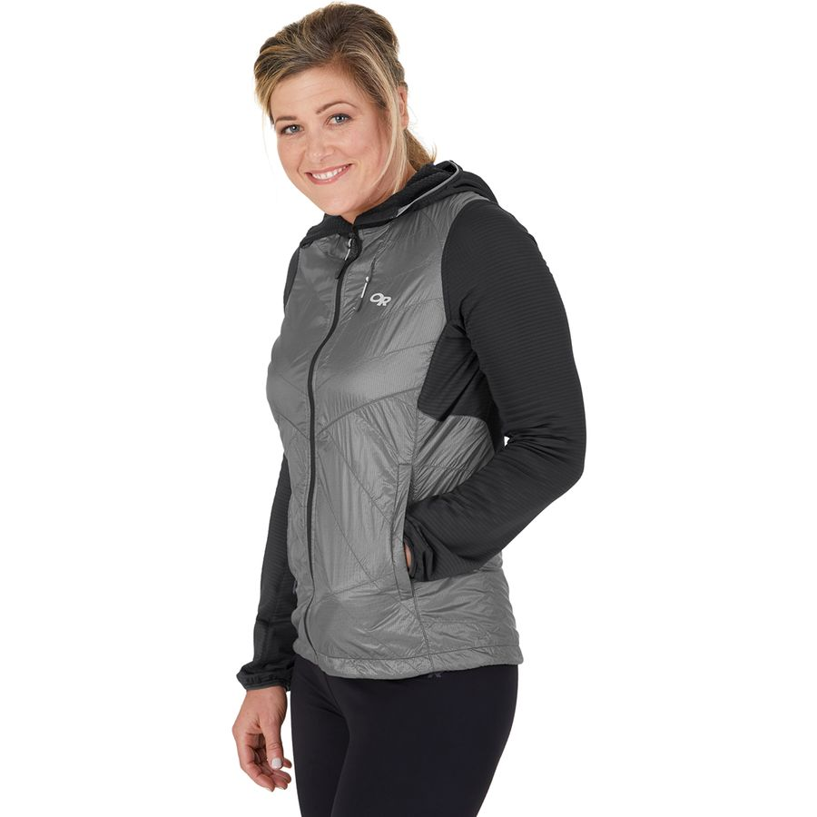 Outdoor Research Vigor Hybrid Hooded Jacket - Womens