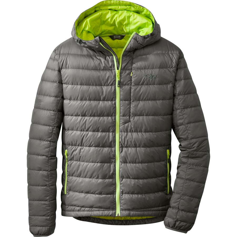 Outdoor Research Transcendent Hooded Down Jacket Men S