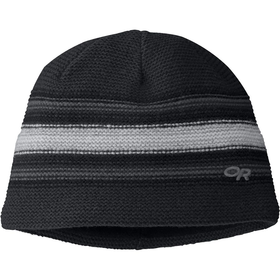 47c199ee1da Outdoor Research - Spitsbergen Hat - Black Charcoal