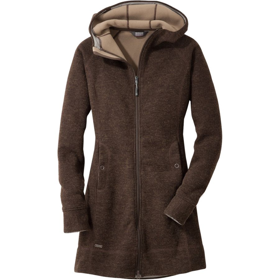 Outdoor Research Salida Long Fleece Hooded Jacket - Women's ...