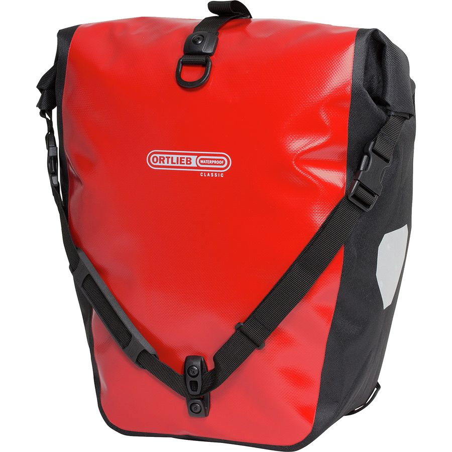 Ortlieb - Back-Roller Classic Panniers - Pair - Red/Black